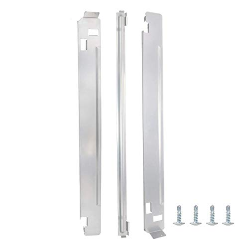 KSTK1 27-Inch Chrome Laundry Stacking Kit by Beaquicy - Replacement for L-G Washers & Dryers