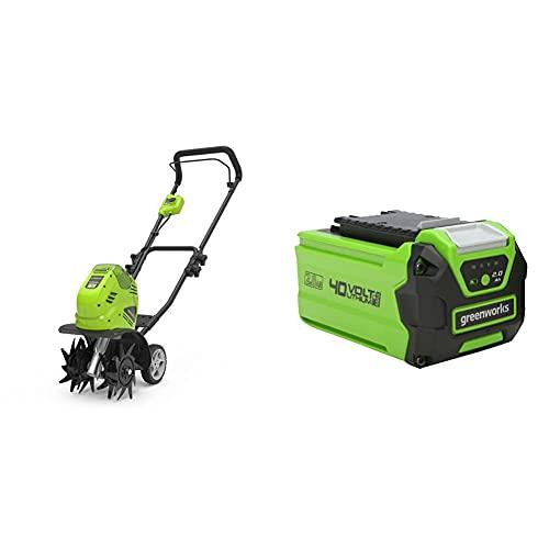 Greenworks Motobineuse à batterie G40TL (Li-Ion...