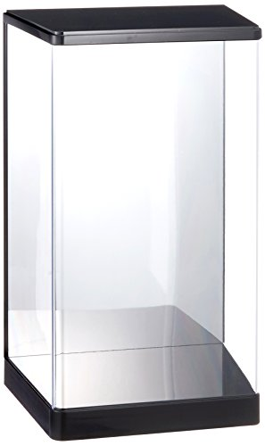 Wave Display T Case (DM), Suitable for 1/100Robot Models Back, Mirror Finish on Rear Surface, Made of Plastic, W 5.8 x D 3.9 x 9.3 inches (W 148x D 100 x H 235mm) (Inner Dimensions) TC051Display Case