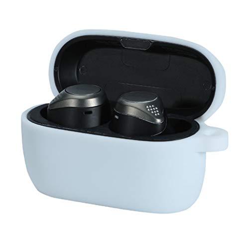 Sweo - Caja de silicona para auriculares Jabra Elite Active 75t a prueba de golpes