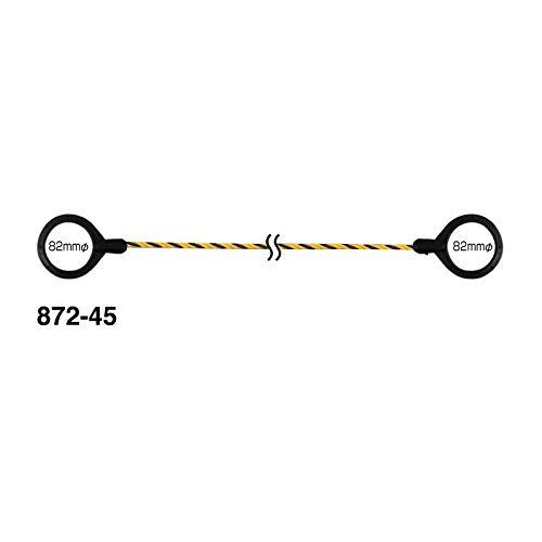 ユニット 区画用 コーン用トラロープ 1.5m 5本セット 872-45