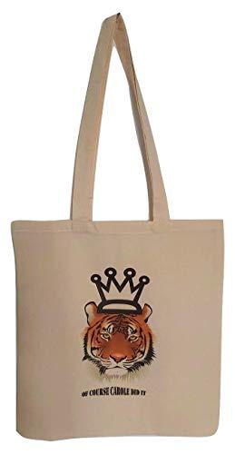 Tiger King Of Course Carole Did It - Mochila con cordón ecológico