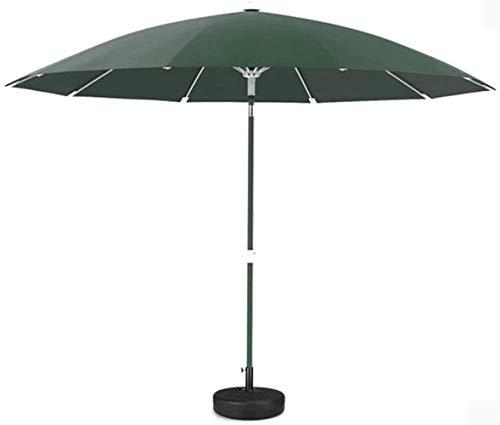 N\C Sombrillas de jardín al Aire Libre Sombrillas Sombrilla de Exterior Mesa de césped de jardín Toldo de protección UV (Tamaño: Marfil Blanco)