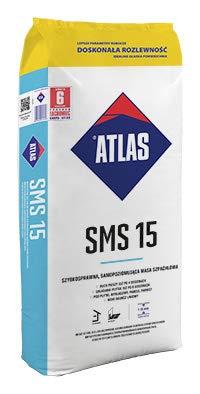 Apollo Baustoffe Atlas SMS 15 Ausgleichsmasse 1-15 mm 25 kg selbstnivellierende Bodenausgleichsmasse NEU