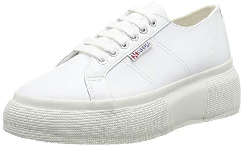 SUPERGA 2287-LEANAPPAW, Sneaker Donna, Bianco (White 900), 39 EU