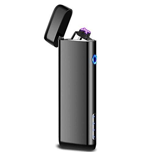 プラズマ ライター 電気 usb (ブラック)
