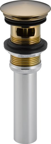 Delta 72173-CZ Push Pop-Up with Overflow, Champagne Bronze