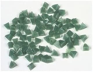 Raytech 41-125 Plastic Media, Pyramid, Green, 50 lb