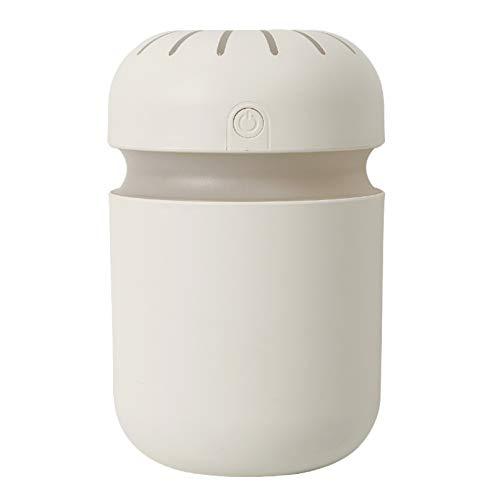 ADFSHISA Humidificador de aire aromático difusor de aceites esenciales 300 ml USB Cool Mist Maker aromaterapia con lámpara de colores para el hogar coche