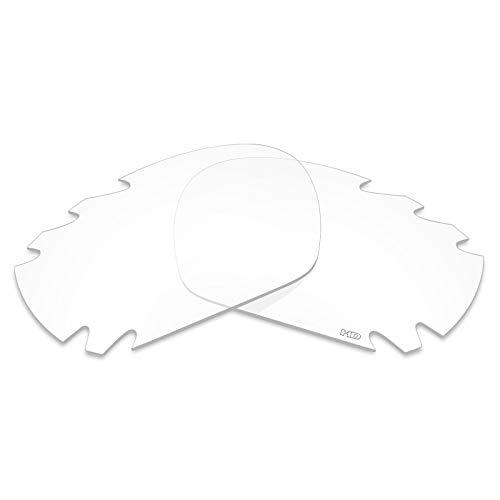 Mryok+ Polarisierte Ersatzgläser für Oakley Jawbone Vented - HD Clear