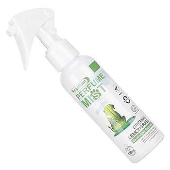KUIDAMOS Parfum de citronnelle pour Animaux de Compagnie Parfum Naturel de citronnelle adapté aux Animaux à la Peau Sensible