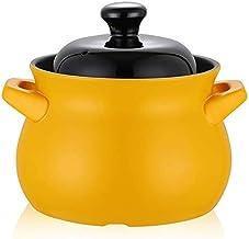 Praktisch Braadpan gerechten hittebestendige braadpan geschikt voor inductiekookplaat, anti-stick keramische steelpan, dub...