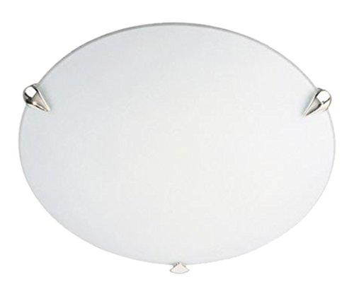 Massive 706700111 Deckenleuchte, E27, Metall, weiß, 7,5 cm