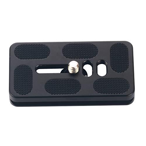 BGNing Universal Ball Head Placa de liberación rápida de la cámara digital trípode de la placa rápida de la abrazadera adaptador de montaje PU-70 703810mm