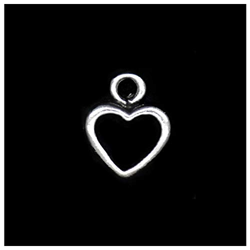0-9 Number charms 100pcs silver YYaaloa 0-9 Number Charms 100pcs Silver Charms DIY Charms Pendant for Crafting Jewelry Making Accessory