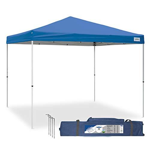 Caravan Canopy 21007900010 10x10 V-Series, 10'x10' base; 10'x10' top, Blue