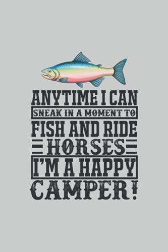 Pescado y caballos de paseo, cuaderno: Mantenga todas las ideas importantes, consejos de pensamientos y trucos en este cuaderno para el pago en la forma de una revista o libro de registro.