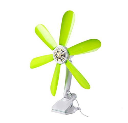 Miaoge 6 Blätter Clip Ventilator Bett Lüfter Student Wohnheim Lüftereinheiten Clip Mini Lüfter home Fan