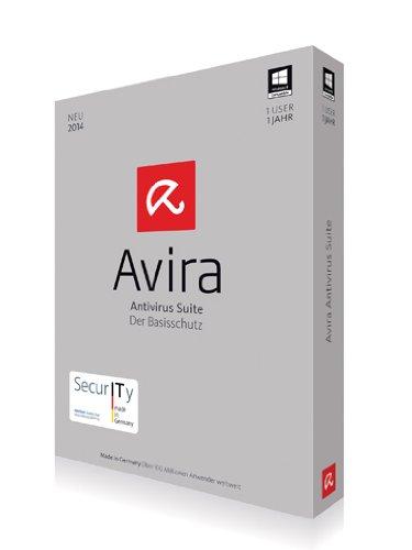 Avira AntiVirus Suite 2014 - 1 User [import allemand]