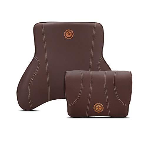 XuBa 2 stuks/set lendenkussen voor autostoel, bureaustoel Eén maat Bruin
