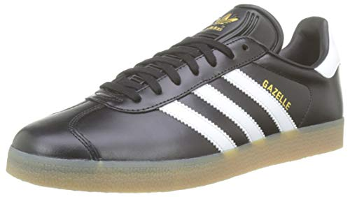 Adidas Herren Gazelle Sneaker , Mehrfarbig (Negbas / Ftwbla / Dormet) , 42 2/3 EU