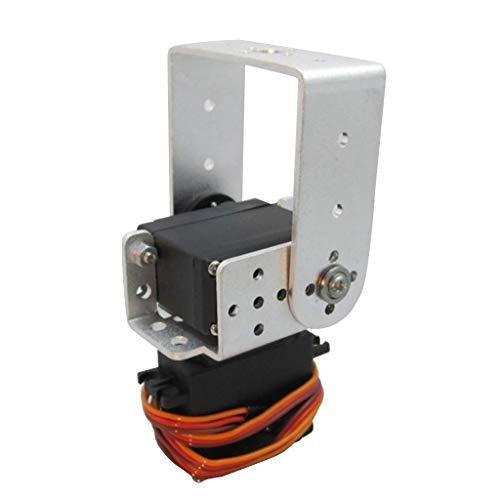 Robot Pan Tilt Head Servo Gimbal-Tilt Head Servo Motor Gimbal Mount Kit-Easy Installation-for DIY robot accessories