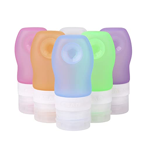 Botellas de Viaje de PláStico, Juego de 6 Botellas de Viaje de...