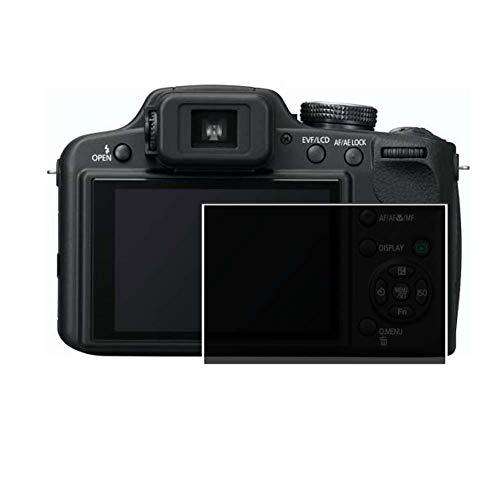 Vaxson Protector de Pantalla de Privacidad, compatible con Panasonic Lumix DMC-FZ45 [no vidrio templado] TPU Película Protectora Anti Espía