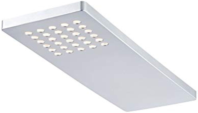 Paulmann Leuchten Paulmann 93563 Mbelaufbauleuchten-Set Pattern  Unterbauleuchte LED Chrom matt 3er Komplettset 3x22W 230 12V 12VA Kunststoff inkl. Leuchtmittel Einbauleuchte, 2.2 W