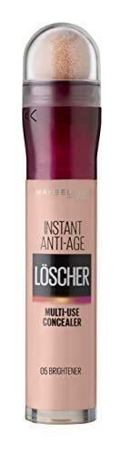 Maybelline New York Abdeckstift, Instant Anti-Age Effekt Concealer, Löscher mit Mikro-Lösch-Applikator, Nr. 05 Brightener, 6,8 ml