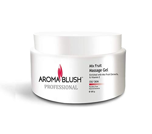 Aroma Blush Moisturizing Massage Gel For Oily Skin Face Cleaning (Mix Fruit)