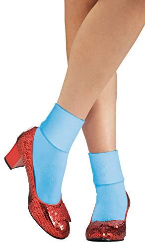 Chaussures à Paillettes Officielles de Dorothy du Magicien d'Oz par Rubie's, Rouges, Taille M
