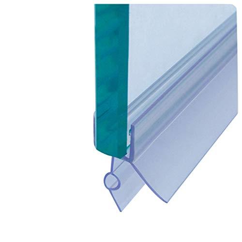 Cozylkx Frameless Shower Door Bottom Seal with Drip Rail for 3/8