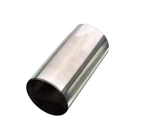 DyNamic Silber Edelstahl Feinblech Folie 0,1x100x1000mm