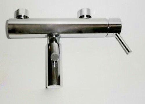 Bad Badewanne Armatur Einhandmischer modern chrom