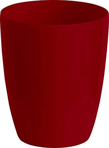 6er Set Vase Verve Slim Rubin