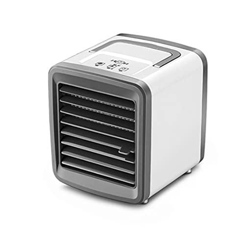 GUIH Ventilador enfriador portátil, ventilador de aire acondicionado, enfriador de aire personal, oscilante para el hogar, dormitorio, oficina al aire libre