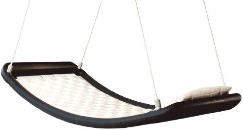 Relax-Schaukel - LifestylePlus EL (extra lang)   Mae  166 x 66 x 22 cm   Gewicht  10 kg   Farbe  wei camel