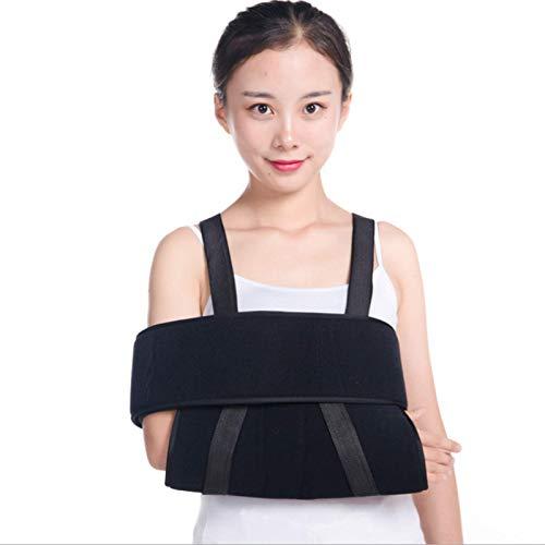HJK Schulterabduktionsschlinge Armschlinge mit Daumenstütze, verrutschte Schulterschlinge für die Wegfahrsperre am Handgelenk für Erwachsene und Jugendlich