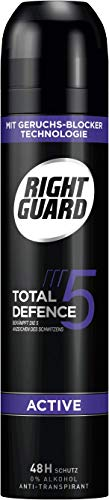 Right Guard Deospray Total Defence 5 Active, 6er Pack(6 x 250 ml)