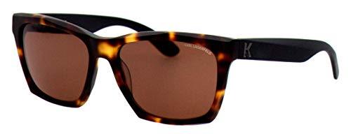Karl Lagerfeld Sonnenbrille KL871S Rechteckig Sonnenbrille 56, Braun