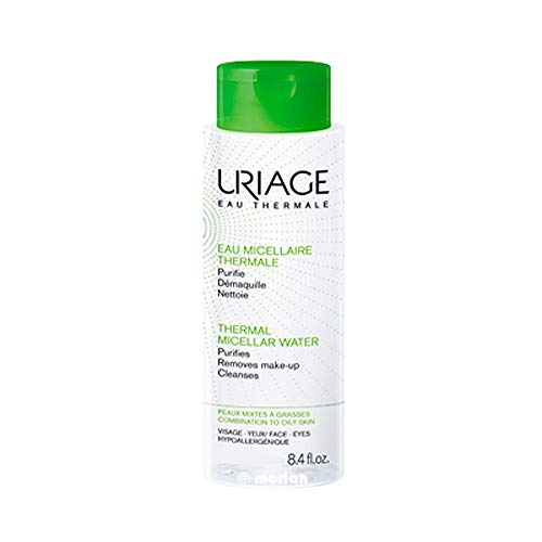 Uriage Agua Thermal Micelar Desmaquillante Piel Mixta-Grasa, 100ml
