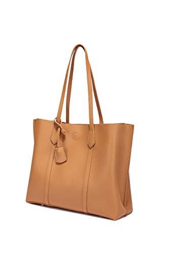 Women Tote Bags Top Handle Satchel PU Pebbled Leather Tassel Shoulder Purse, Big Capacity Tassel Woman(Brown)