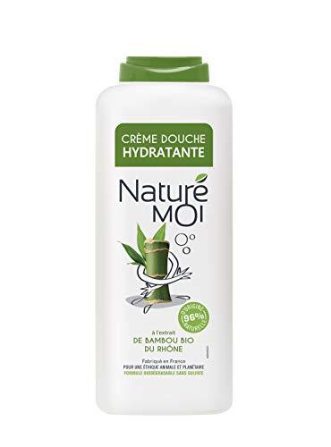 Naturé Moi Crème douche à l'extrait de bambou bio du Rhône – Hydrate et nourrit les peaux normales à sèches, 400ml NMB400