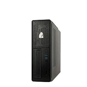 immagine di NitroPC – PC da ufficio Bronze, sbassi, computer desktop da lavoro (CPU Ryzen 3 3200G 4/8 x 4,00GHz (Turbo), grafico Vega 8), RAM 16 GB, M.2 240 GB, HDD 1 TB, computer di telelavoro 1.BRONZE, R3 3200G, M.2 240GB + 1TB HDD
