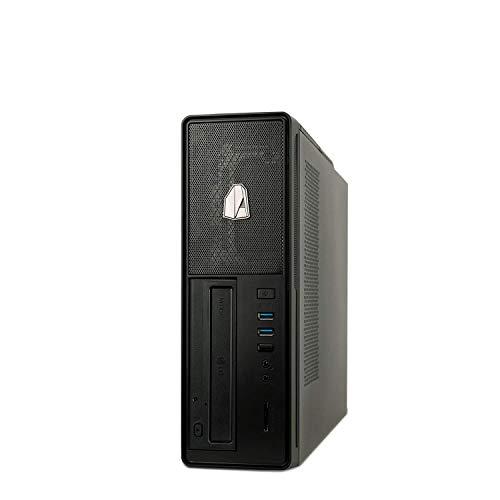 NITROPC - PC Oficina Gold, Rebajas, Ordenador sobremesa Trabajo (CPU Intel i5 10500 6 x 4,50Ghz (Turbo), Gráfica Intel UHD Graphics 630), RAM 16GB, M.2 480GB, HDD 2TB, Ordenador de teletrabajo