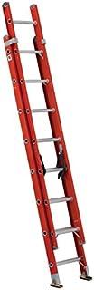 Louisville Ladder FE3216 Fiberglass Extension Ladder 300-Pound Capacity, 16-foot, Type IA