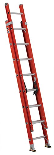 Louisville Ladder-Fiberglass Ladder for Painting 2 Story House