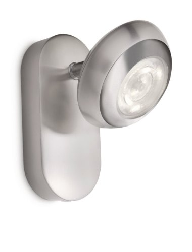 Philips LED Wandspot 4 W, matt chrom, 571701716