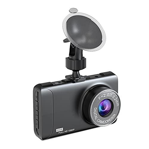 DAGUAN-YAOYAO Módulo electronico Video Recorder Conducción automóvil DVR Dash CAM Camera HD1080P 3.2'Registro de Ciclo de grabación Nocturno de Gran Angular Dashcam Dashcam Registrador